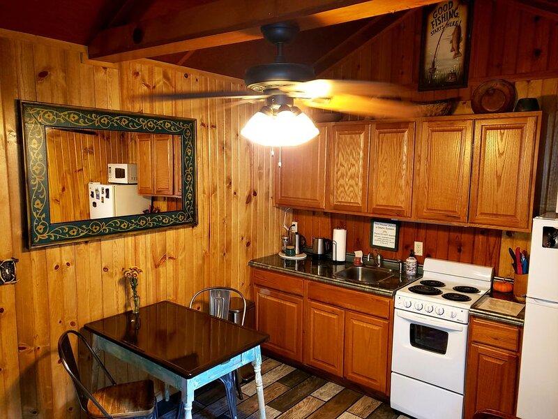 This mountain cabin is perfect for a couple or single person get away., aluguéis de temporada em Chipita Park
