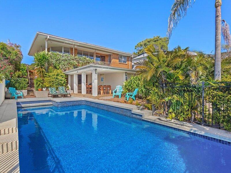 Amelies One Mile Beach- Entire house, Sleeps 8. Fun family house & Pool, alquiler vacacional en Tuncurry
