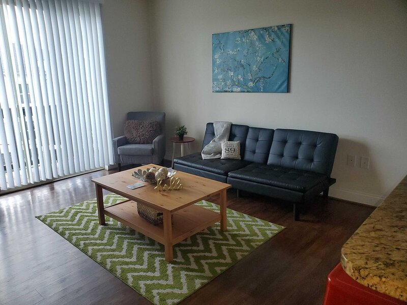 Trendy, Walkable 1BR Apt Plaza Midwood w/ Balcony, holiday rental in Newell