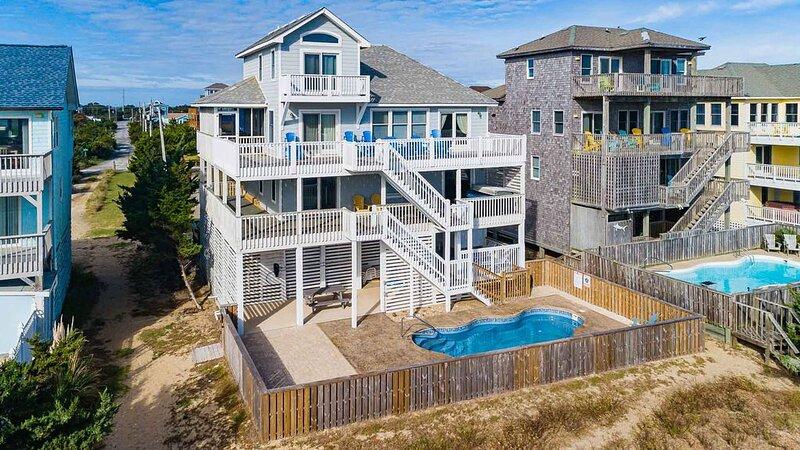 Summer Dream - Well-loved 5 Bedroom Oceanfront Home in Salvo, alquiler vacacional en Waves