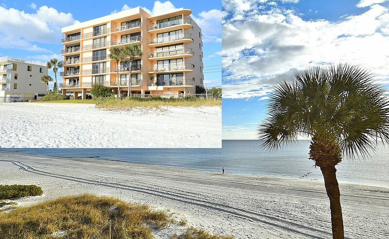 Trillium 2A Desired South Corner/Large Balcony/Beautiful Beach View!, holiday rental in Madeira Beach