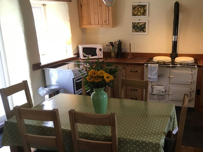 Cosy, peaceful cottage in Manorbier, Pembrokeshire for 6, a mile from the beach, location de vacances à Hodgeston