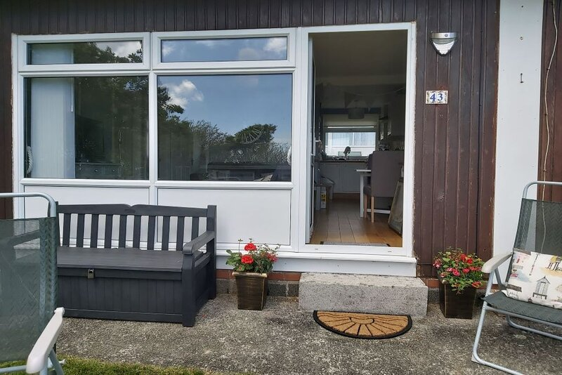 Dartmouth Devon Large Self catering chalet  2 bed can sleep 6  Ideal location, location de vacances à Strete