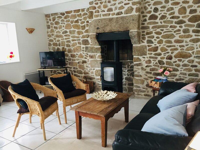Maison de Mahé (bord de mer à kerlouan), holiday rental in Kernoues