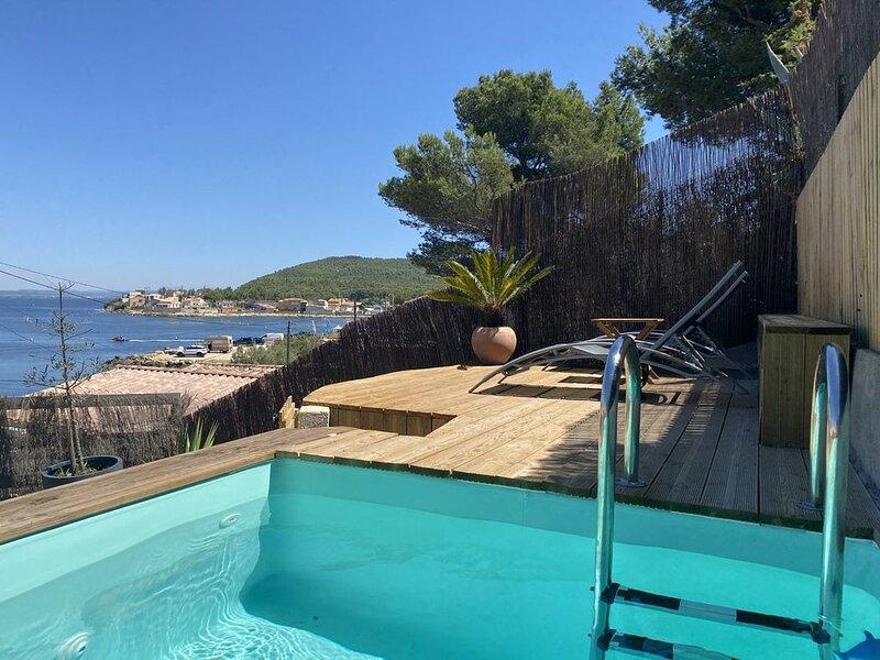 Le charme de la Provence les pieds dans l'eau, location de vacances à Port-de-Bouc