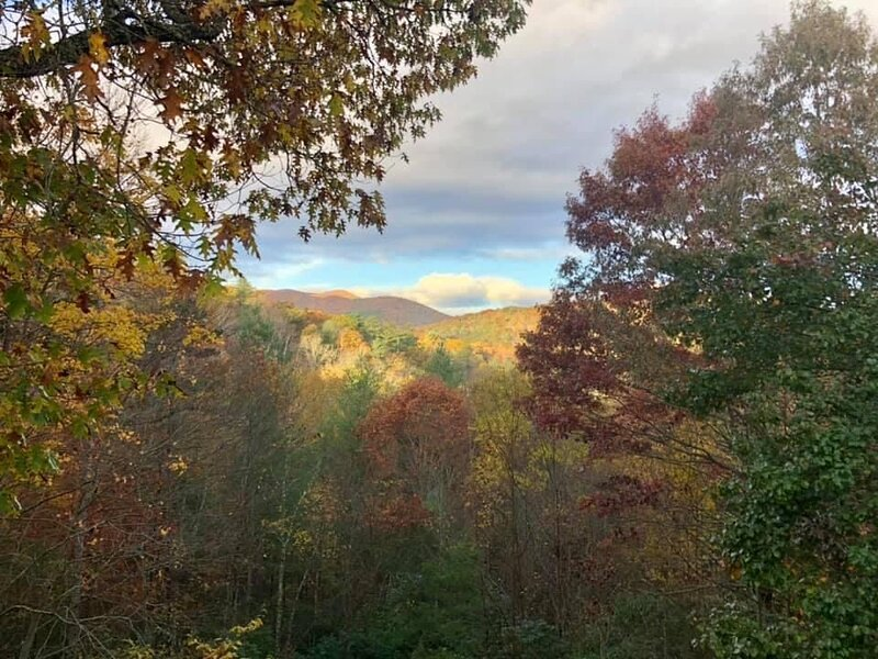 Majestic Mountain View Cabin, vacation rental in Mineral Bluff