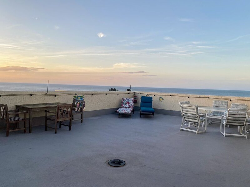 Penthouse condo with 800 ft.² private rooftop patio, holiday rental in Hudson