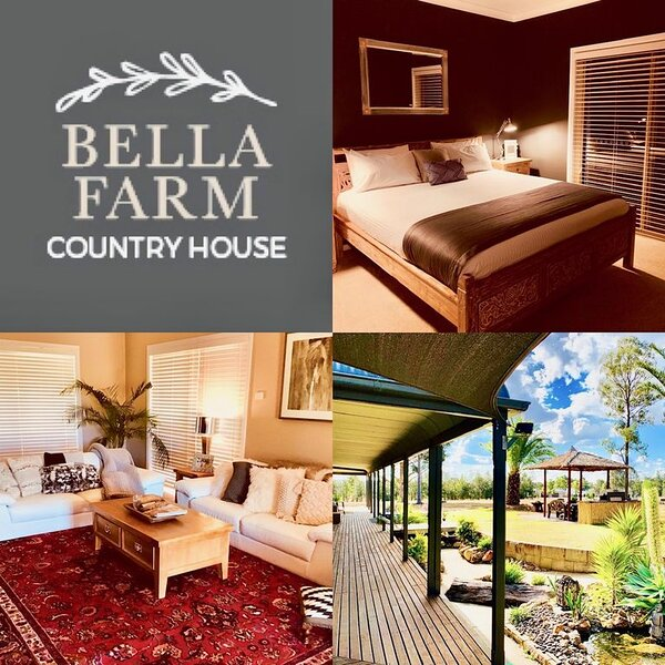 Bella Farm Country House with Firepit & Outdoor Jacuzzi. Close to Wineries.5star, vacation rental in Pokolbin