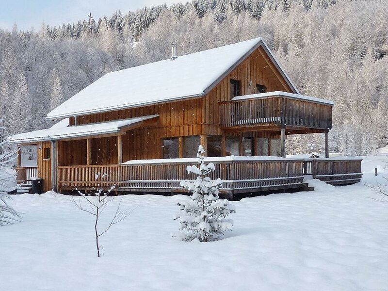 Cosy Chalet in Stadl an der Mur with Valley Views, holiday rental in Sankt Georgen ob Murau