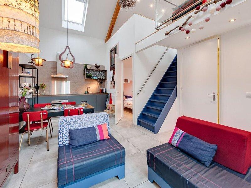Cozy Holiday Home In Uitwellingerga With Terrace, location de vacances à Terkaple