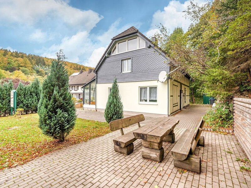 A large holiday house, completed in 2008, near Willingen., holiday rental in Ruthen