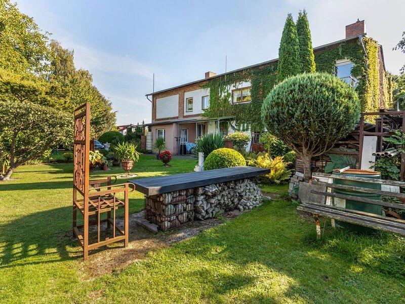 Quaint  Apartment in Wittenbeck with Garden, casa vacanza a Wittenbeck