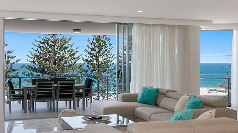 The Garland Unit 702- Brand New Luxury Beachfront Rainbow Bay - 'The Garland', holiday rental in Coolangatta