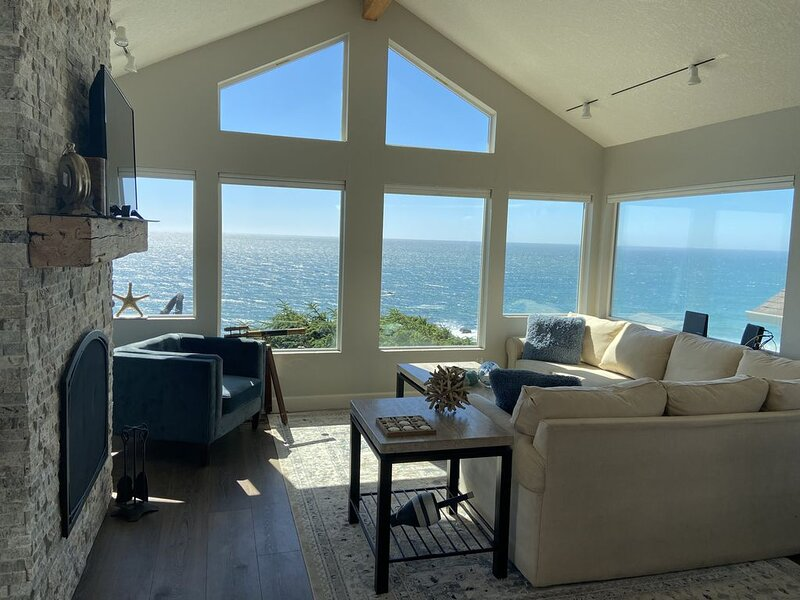 Awesome 3bd 2bath 1490 sqft house with amazing ocean view!, alquiler de vacaciones en Lincoln City