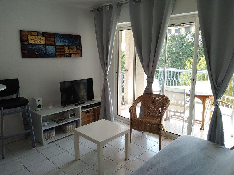 T2 classé 3 étoiles tourisme, vacation rental in Fréjus