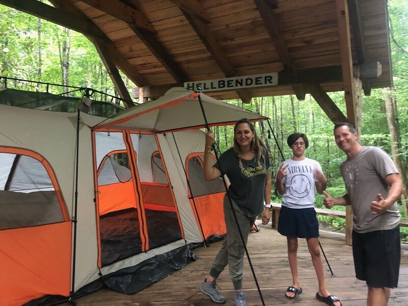 CHERRYFIELD LUXURY  GROUP CAMPGROUND IN BREVARD NC (Pavillions 1 & 2), holiday rental in Rosman