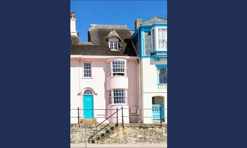 Stunning cottage on Lyme Regis' seafront -  magnificent ocean views. Sleeps 2/4, vacation rental in Lyme Regis