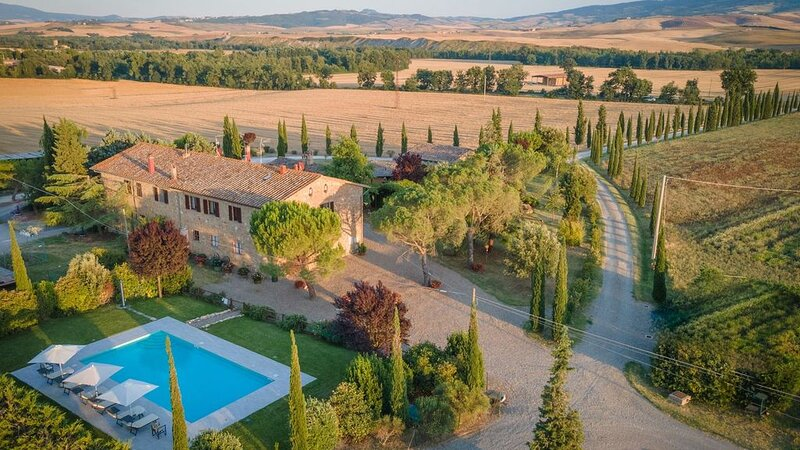Podere Osteria, Pienza, Siena and Chianti, holiday rental in Gallina