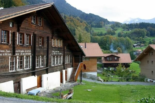 Apartment Hasliberg Reuti for 1 - 10 people with 3 bedrooms - Apartment, vacation rental in Innertkirchen