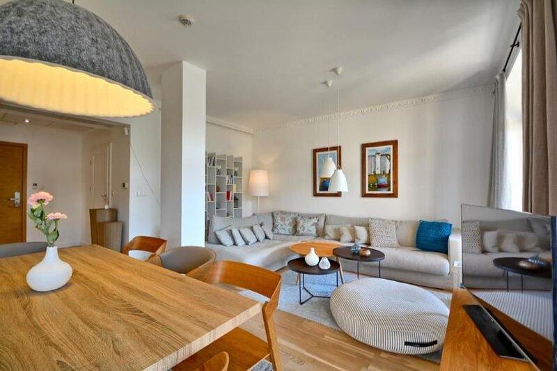 Ferienwohnung Kolobrzeg für 4 - 5 Personen mit 2 Schlafzimmern - Penthouse-Ferie, location de vacances à Ustronie Morskie