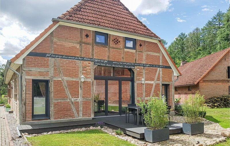 3 Zimmer Unterkunft in Wendisch Evern, alquiler de vacaciones en Bleckede