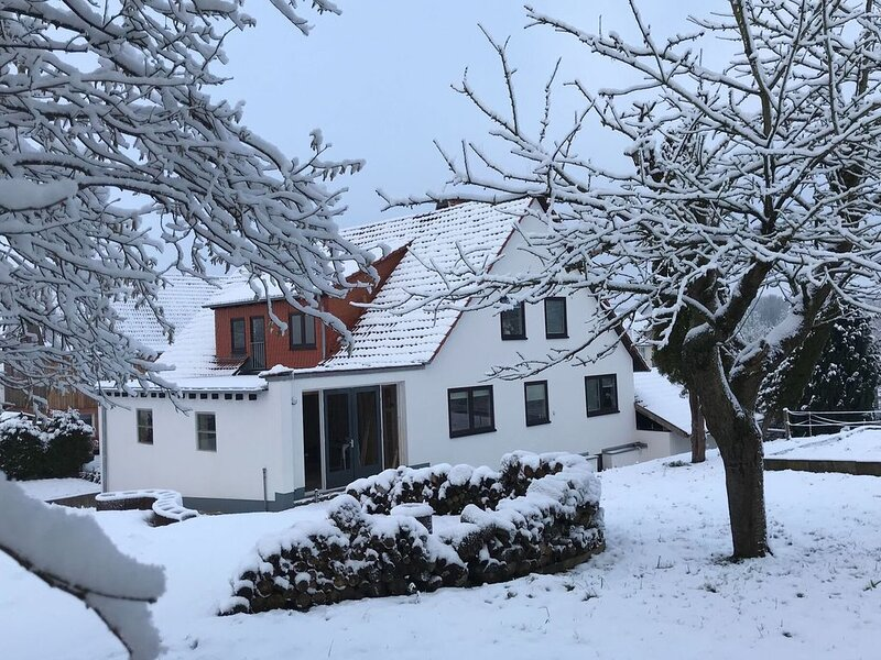 Spacious group home near Edersee and Kellerwald National Park with garden., holiday rental in Warburg
