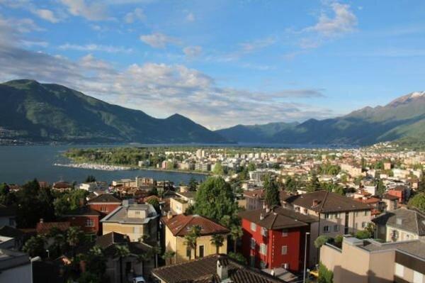 Ferienwohnung Locarno (Stadt) für 4 - 8 Personen mit 3 Schlafzimmern - Ferienwoh, holiday rental in Minusio