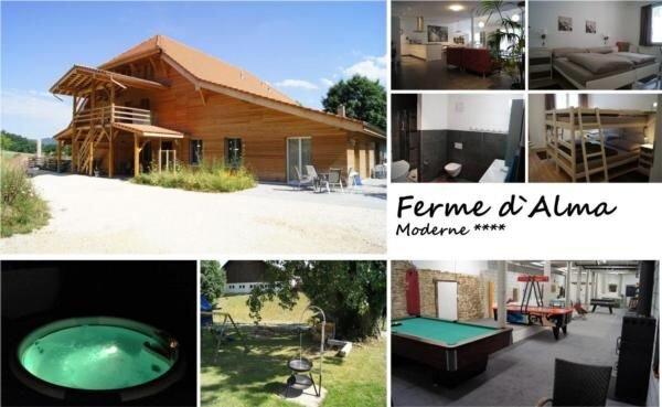 Ferienwohnung Seleute für 5 - 13 Personen mit 3 Schlafzimmern - Ferienhaus, vacation rental in Mooslargue