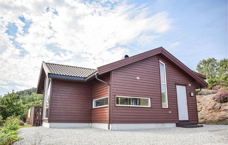 5 Zimmer Unterkunft in Nedstrand, alquiler vacacional en Roksund