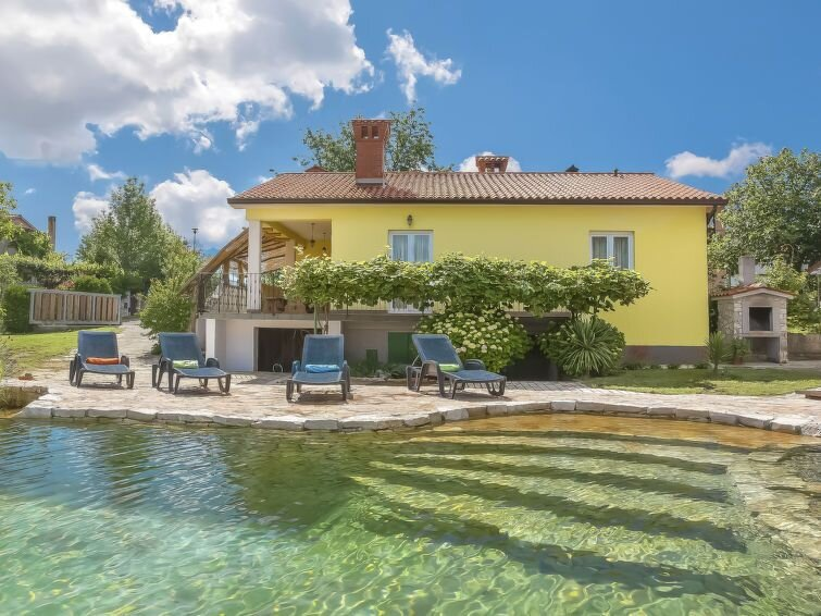 Ferienhaus Angelina (LBN428) in Labin - 6 Personen, 3 Schlafzimmer, location de vacances à Strmac