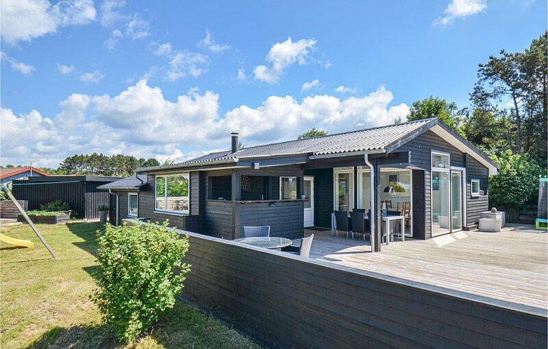 3 Zimmer Unterkunft in Knebel, holiday rental in Knebel