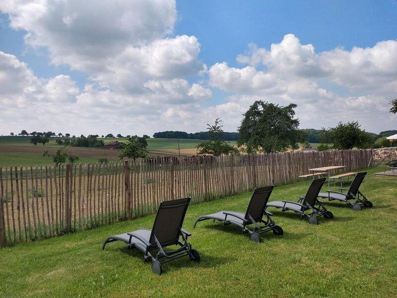..Ideales Ferienhaus für viele Menschen - mit eingezäutem Garten, Sauna, Hunde s, holiday rental in Kirchberg an der Jagst