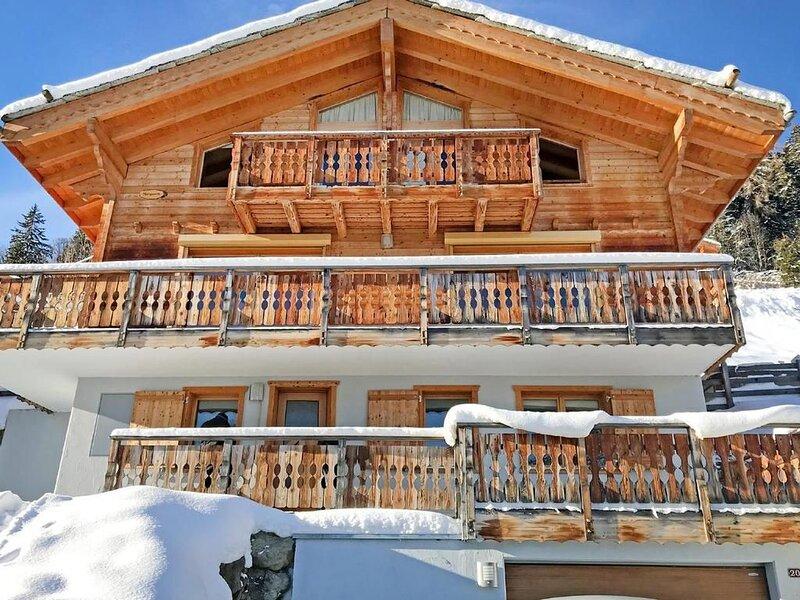 Ferienhaus Les Collons für 12 Personen mit 5 Schlafzimmern - Ferienhaus, Ferienwohnung in Thyon