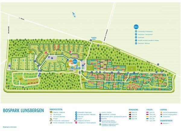Freistehendes Chalet mit 2 Schlafzimmern und 1 Badezimmer, holiday rental in Drenthe Province