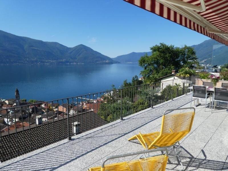Ferienwohnung Ascona für 4 - 5 Personen mit 2 Schlafzimmern - Ferienwohnung, location de vacances à Avegno Gordevio