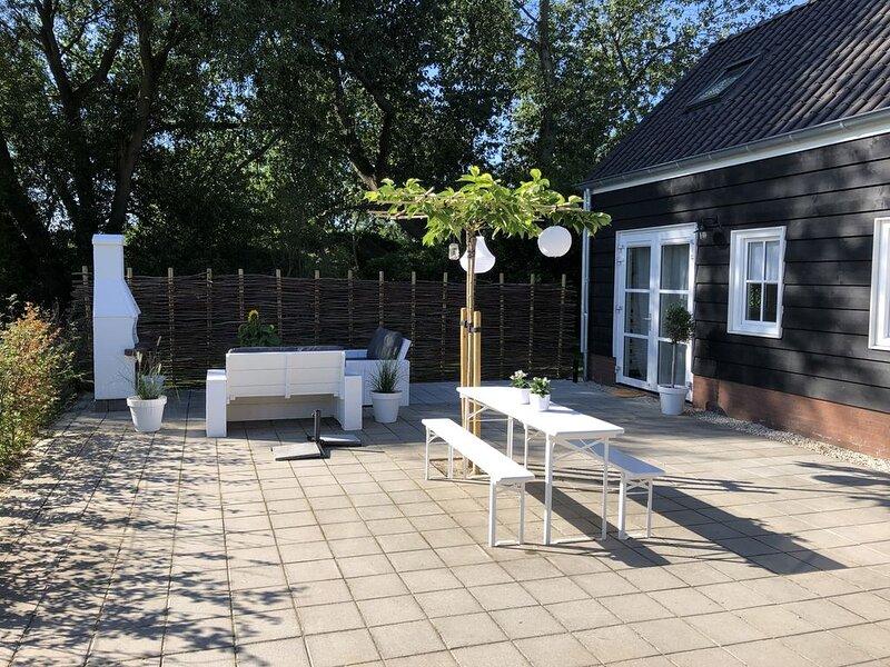 Mooie, sfeervolle vakantiewoning in Zeeland, location de vacances à Koudekerke