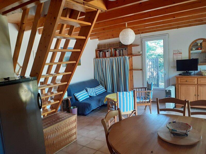 Maison de campagne au bord de l'océan, location de vacances à Asserac