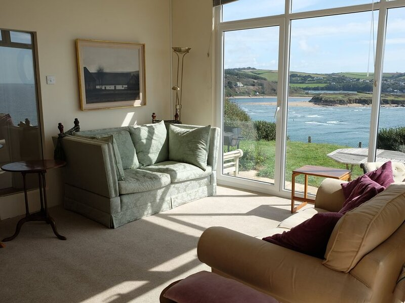 Best Views in Bigbury-on-Sea, holiday rental in Burgh Island