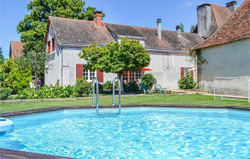 3 Zimmer Unterkunft in St.Sulpice-d'Exideuil, alquiler vacacional en Lanouaille