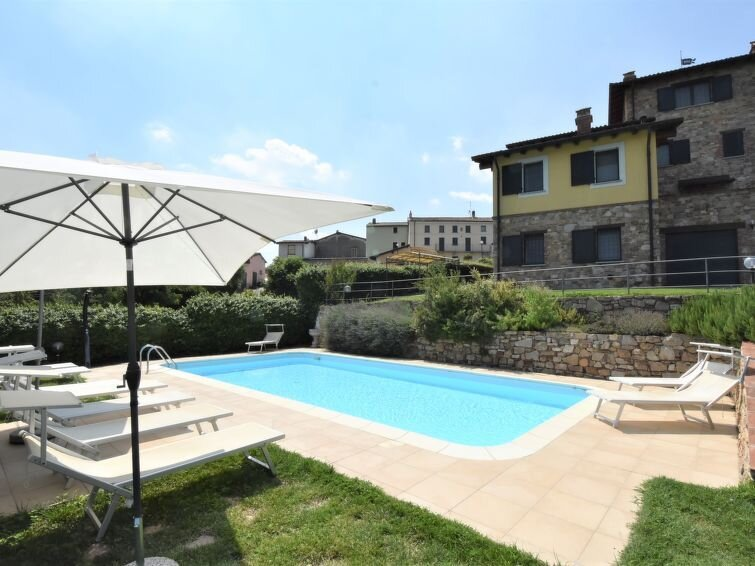 Ferienwohnung La Corte Bricca (OLP100) in Oltrepo Pavese - 4 Personen, 2 Schlafz, alquiler de vacaciones en Nibbiano