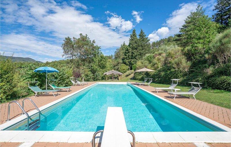 4 Zimmer Unterkunft in Anghiari (AR), holiday rental in Chiaveretto