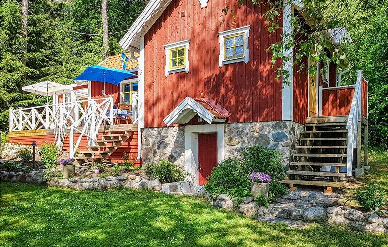 2 Zimmer Unterkunft in Sollebrunn, holiday rental in Alingsas