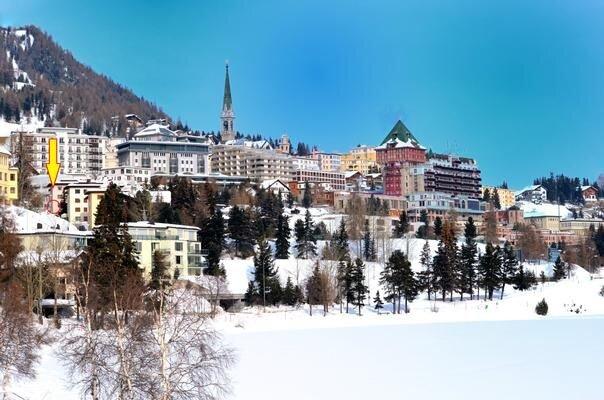 Ferienwohnung St. Moritz für 4 - 5 Personen mit 2 Schlafzimmern - Ferienwohnung, vacation rental in St. Moritz