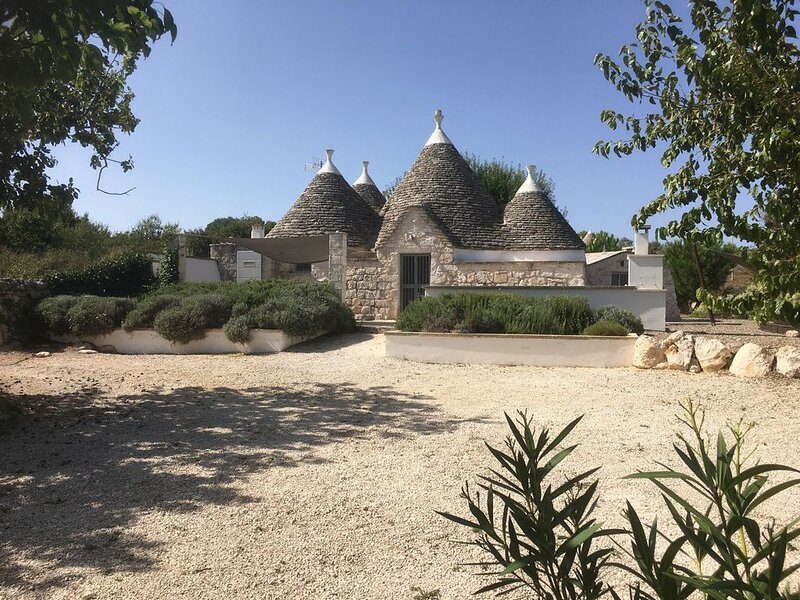Beautiful Original Trullo, Perfectly Restored With Private Pool, holiday rental in Martina Franca