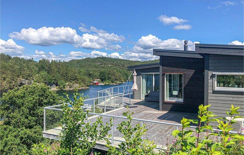 3 Zimmer Unterkunft in Lundegrend, Ferienwohnung in Os Municipality