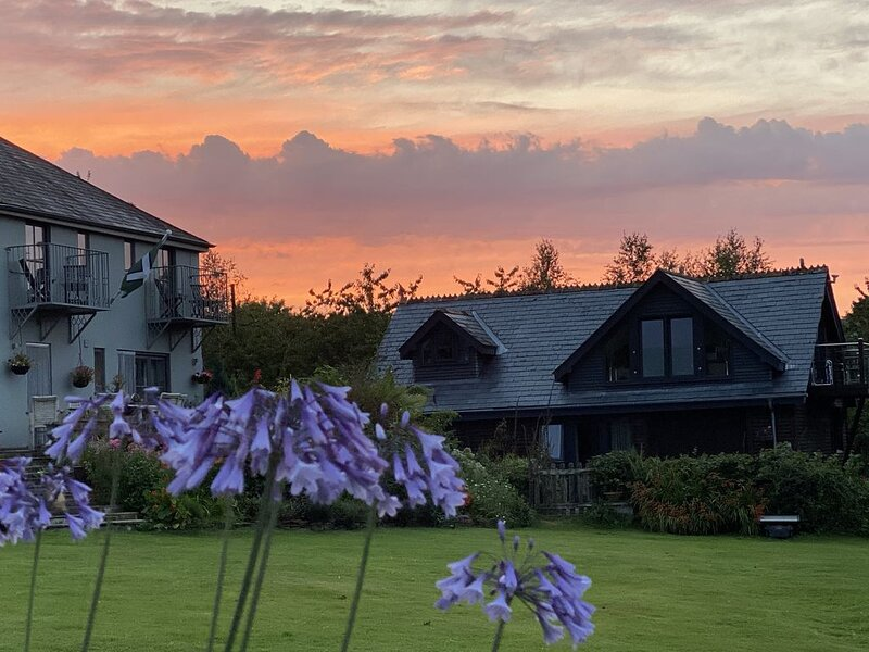 Barn Apartment in Peaceful Rural Setting Near Dittisham, alquiler de vacaciones en Dartmouth