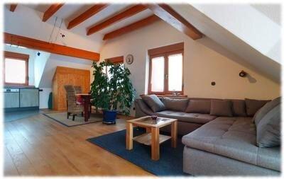 Ferienwohnung Reckershausen für 2 Personen mit 1 Schlafzimmer - Penthouse-Ferien, location de vacances à Klosterkumbd