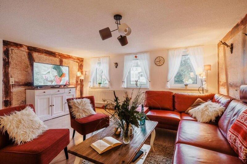 Ferienhaus St. Andreasberg für 9 Personen mit 4 Schlafzimmern - Ferienhaus, vacation rental in Sankt Andreasberg