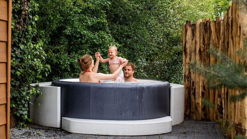 Modern and detached holiday home for four persons with jacuzzi., holiday rental in Lunteren