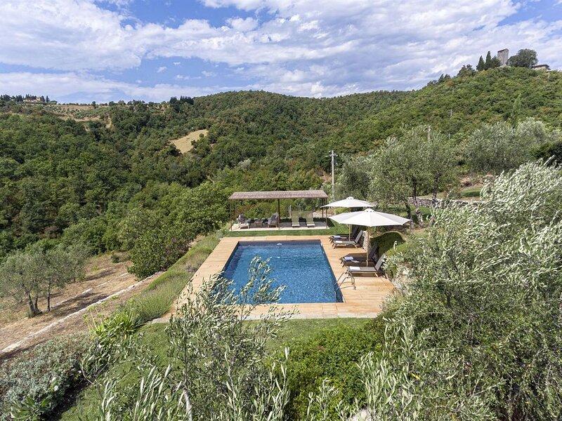 Casa di Pesa, Radda in Chianti, Siena and Chianti, location de vacances à Volpaia